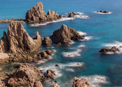 Arrecife natural en Cabo de Gata - Boutique Hotel el Tío Kiko