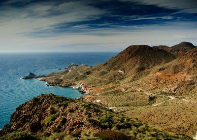 Perspectiva del paisaje natural de Cabo de Gata - Boutique Hotel el Tío Kiko