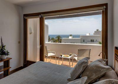 Habitación con terraza y vistas al mar - Boutique Hotel el Tío Kiko