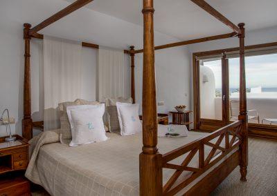 Habitación con cama con dosel - Boutique Hotel el Tío Kiko