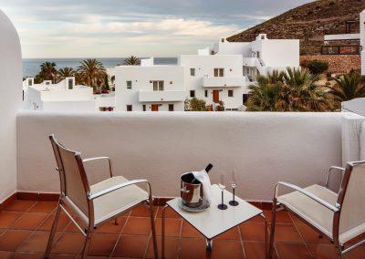 Terraza de habitación con vistas - Boutique Hotel el Tío Kiko