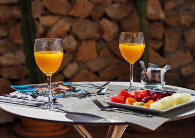 Desayuno mediterráneo en Boutique Hotel el Tío Kiko