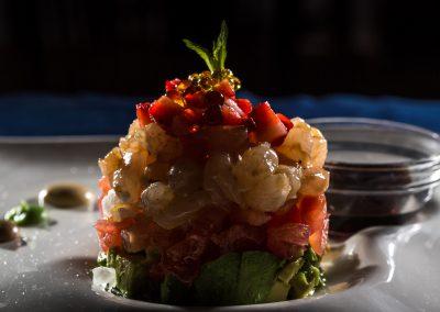 Mini tartár de verduras - Boutique Hotel el Tío Kiko