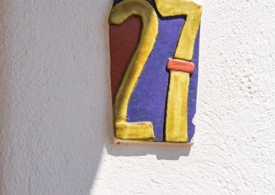Número de habitación en Boutique Hotel el Tío Kiko