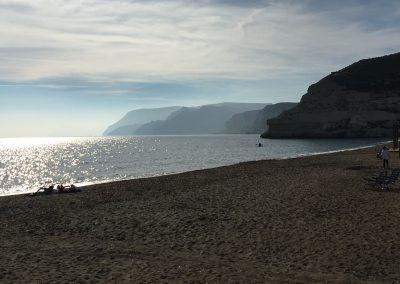 Vistas Playa Agua Amarga